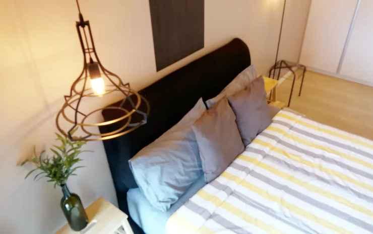 St Nomad M City Kuala Lumpur - Apartemen Desain, 1 kamar tidur, pemandangan danau, area taman