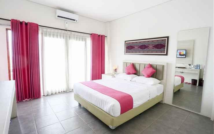 La Cecile Hotel and Cafe Komodo Manggarai Barat - Kamar Double Deluks, pemandangan laut (with Return Airport Transfers)