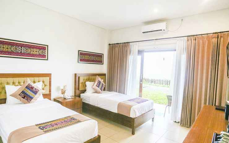 La Cecile Hotel and Cafe Komodo Manggarai Barat - Kamar Twin Deluks