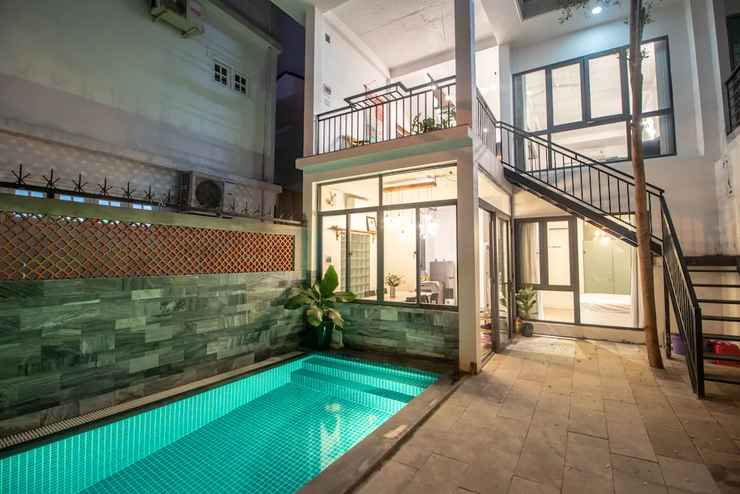 SWIMMING_POOL 3BR Green and Artistic House in Da Nang