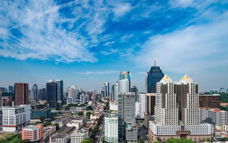 Hilton Garden Inn Kuala Lumpur Jalan Tuanku Abdul Rahman South Kuala Lumpur - Kamar Twin (Twin Tower View)