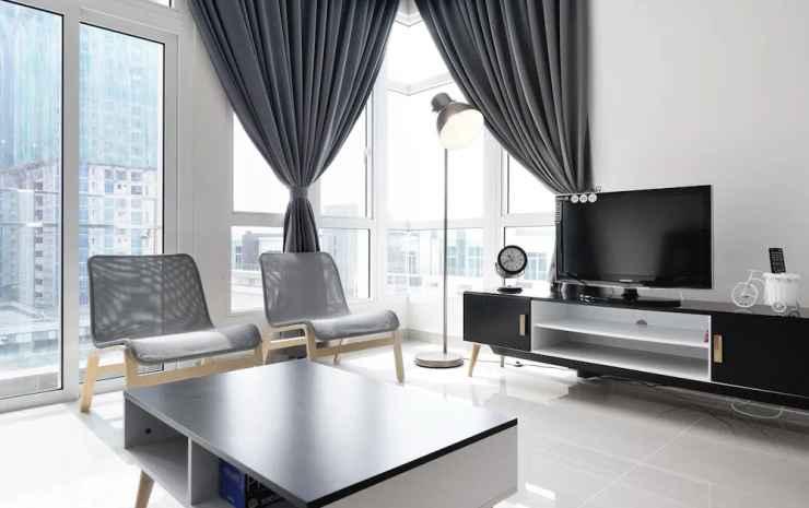 JBNB 1 Medini Homestay Johor - Kondo Deluks, 2 kamar tidur, non-smoking, dapur