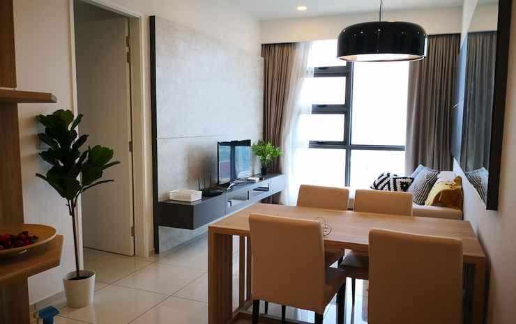 Robertson Suites Kuala Lumpur Kuala Lumpur - Apartemen Eksklusif, 2 kamar tidur, pemandangan kota