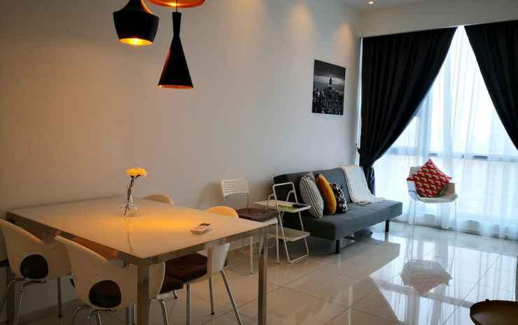 Robertson Suites Kuala Lumpur Kuala Lumpur - Apartemen Mewah, 1 Tempat Tidur King dengan tempat tidur Sofa