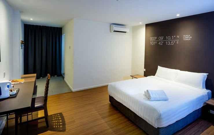 H Boutique Hotel Xplorer Maluri Cheras Kuala Lumpur - Kamar Deluks, 1 Tempat Tidur Queen (with Window)