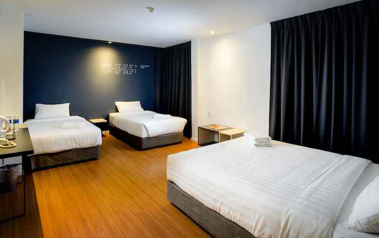 H Boutique Hotel Xplorer Maluri Cheras Kuala Lumpur - Kamar Quadruple Deluks