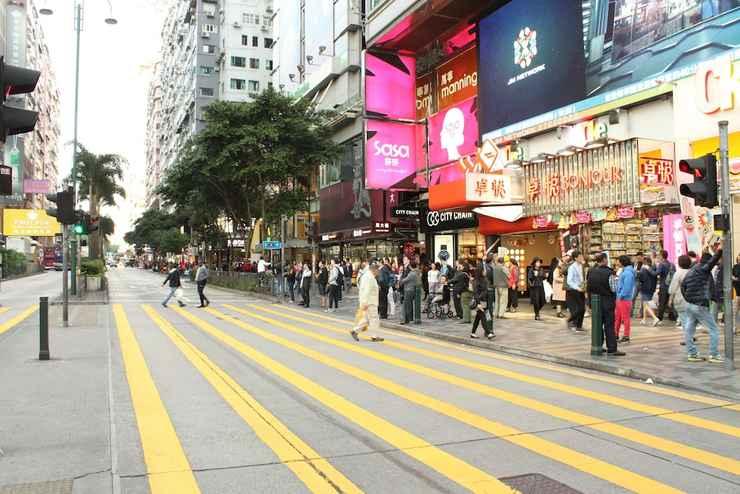 EXTERIOR_BUILDING นิวชุงคิง แมนชั่น เกสต์เฮาส์ - ในเครือโฮสเทลคาร์ลตัน กรุ๊ป