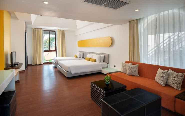 Z Through by the Zign Hotel Chonburi - Twin Deluks Pemandangan Kolam Renang