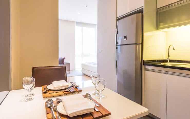 Somerset Sukhumvit Thonglor Bangkok Bangkok - Studio Eksekutif, 1 Tempat Tidur King, dapur