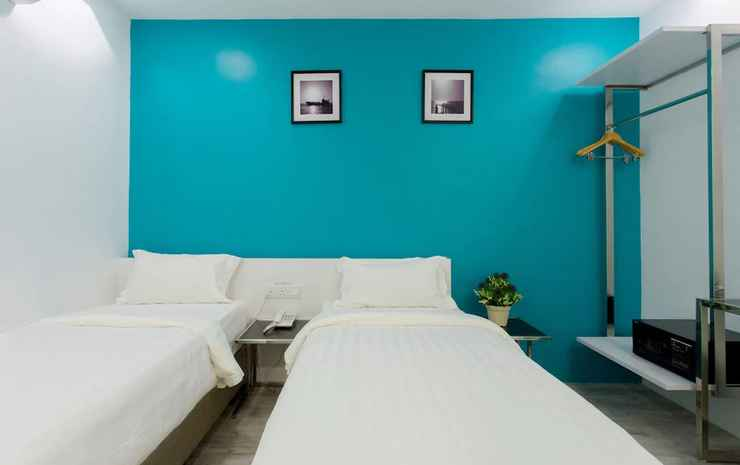 Aloha Hotel Johor - Kamar Deluks, 2 Tempat Tidur Twin, tanpa jendela