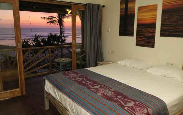 The Tree House Sumbawa - Hostel Dompu - Kamar Double atau Twin Panorama, pemandangan pantai, menghadap pantai