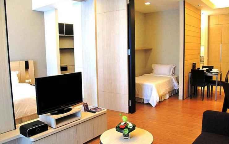 Platinum Suites AT Swiss Garden Kuala Lumpur - Studio Suite Eksekutif, 1 kamar tidur, non-smoking, pemandangan kota