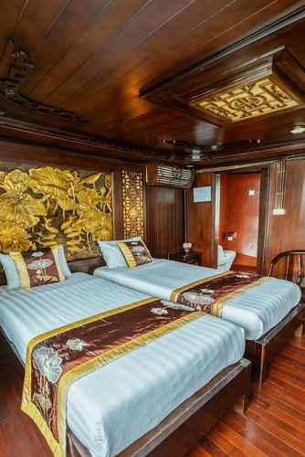 BEDROOM Du thuyền Renea Cruises Halong