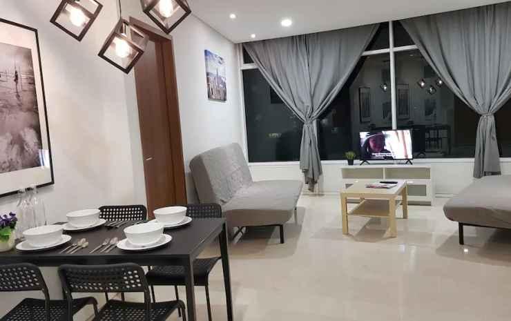 Luxury Apartment near KLCC & City Centre Kuala Lumpur - Apartemen Comfort, 3 kamar tidur