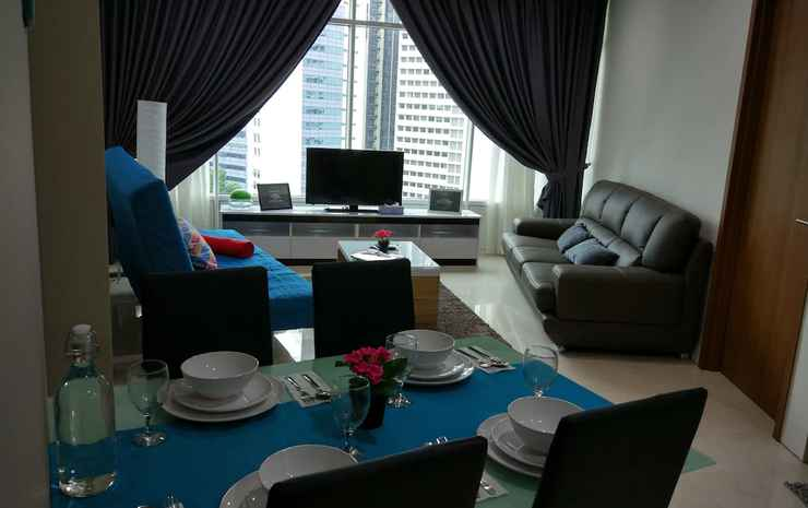 Luxury Apartment near KLCC & City Centre Kuala Lumpur - Apartemen Kota, 3 kamar tidur, akses difabel, pemandangan kota