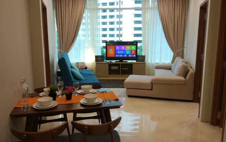 Luxury Apartment near KLCC & City Centre Kuala Lumpur - Apartemen Basic, 3 kamar tidur