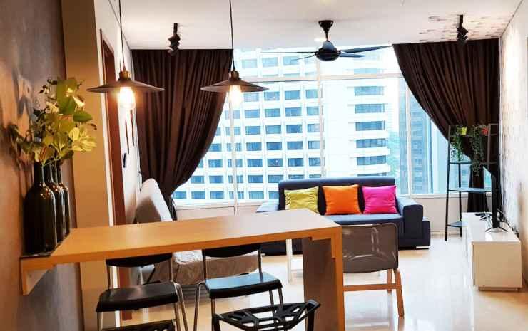 Luxury Apartment near KLCC & City Centre Kuala Lumpur - Apartemen Premium, 3 kamar tidur