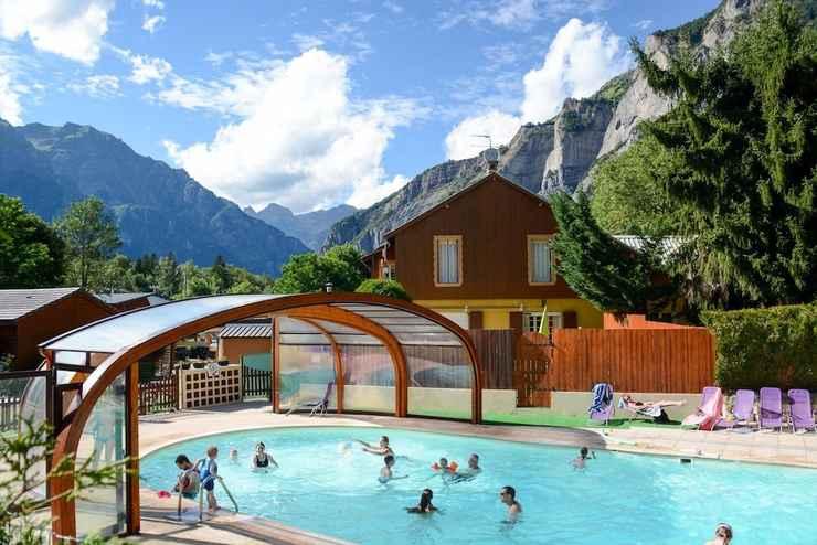 Camping 5 étoiles dans les Alpes