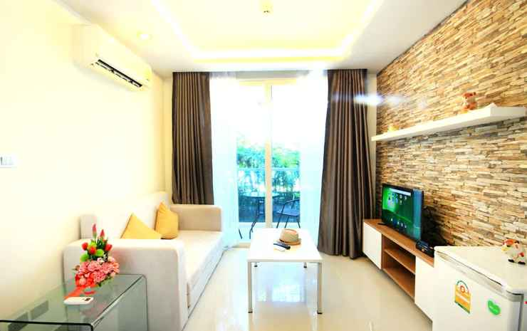 Amazon Condo & Water Park Pattaya Chonburi - 1 Bedroom Garden View