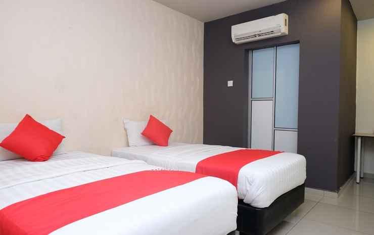 Hotel De'Tees Johor - Kamar Twin Standar, 2 Tempat Tidur Twin