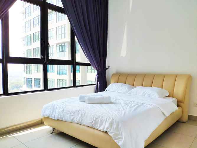 BEDROOM Conezion Residences & JRS Homestay