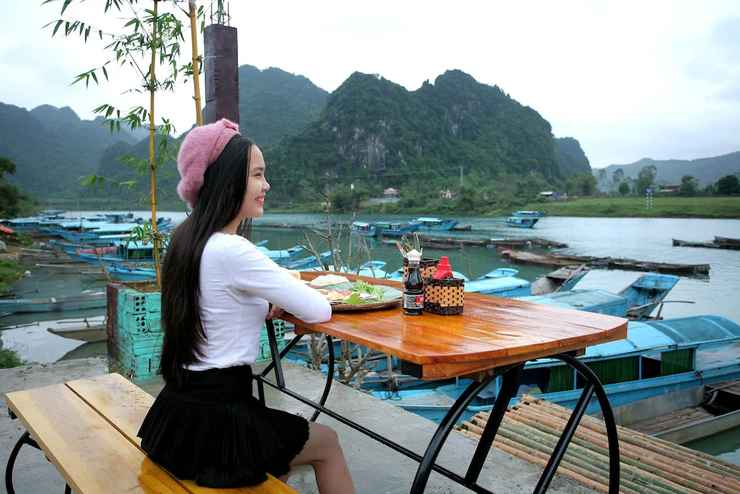 RESTAURANT Phong Nha Riverlife Homestay - Hostel