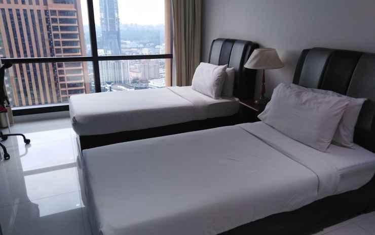 Kl Millennium Apartment at Times Square Kuala Lumpur - Kamar Double Deluks, 2 kamar tidur, non-smoking