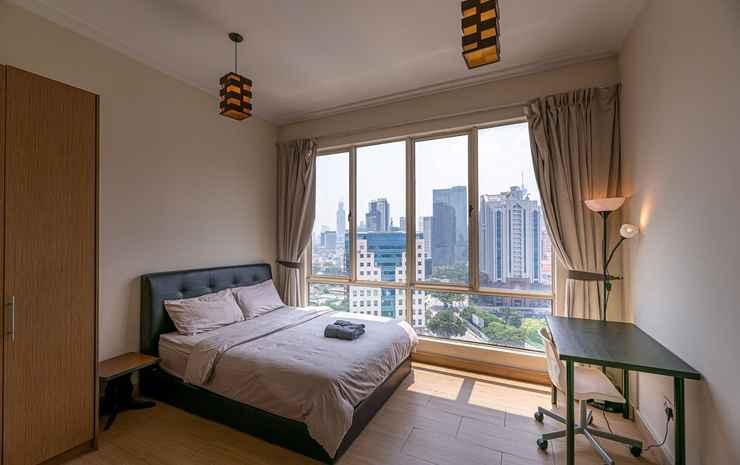 Rex Ollie 231 TR Service Suites Kuala Lumpur - Kamar Double Eksekutif, 1 Tempat Tidur Queen, pemandangan kota (Private Bathroom)