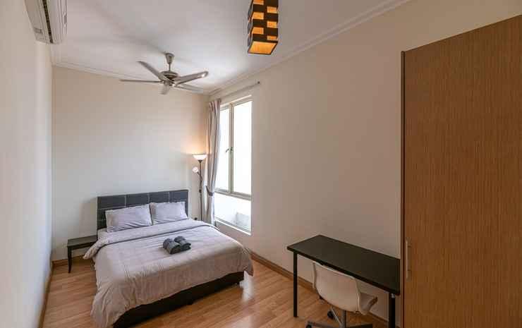 Rex Ollie 231 TR Service Suites Kuala Lumpur - Kamar Double Kota, 1 Tempat Tidur Queen, pemandangan kota (Shared Bathroom)