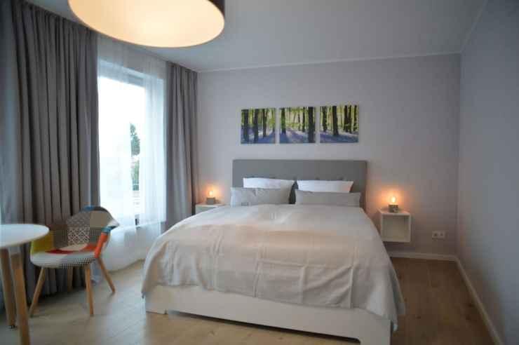 BEDROOM Grey House Apartments Grossbeeren
