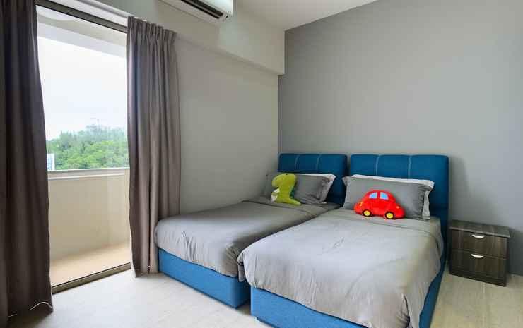 2 Bedrooms Apartment By The Sea Penang - Apartemen Keluarga, 2 kamar tidur, pemandangan laut terbatas, menghadap pantai