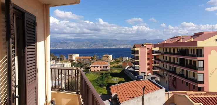 VIEW_ATTRACTIONS Apartment With one Bedroom in Messina, With Wonderful sea View, Furnished Balcony and Wifi - 100 m From the Beach