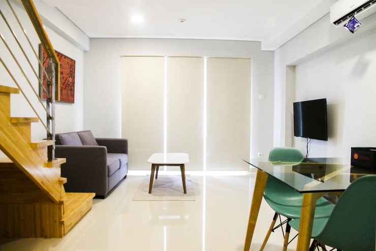 COMMON_SPACE 2BR Luxurious Loft Apartment at Maqna Residence