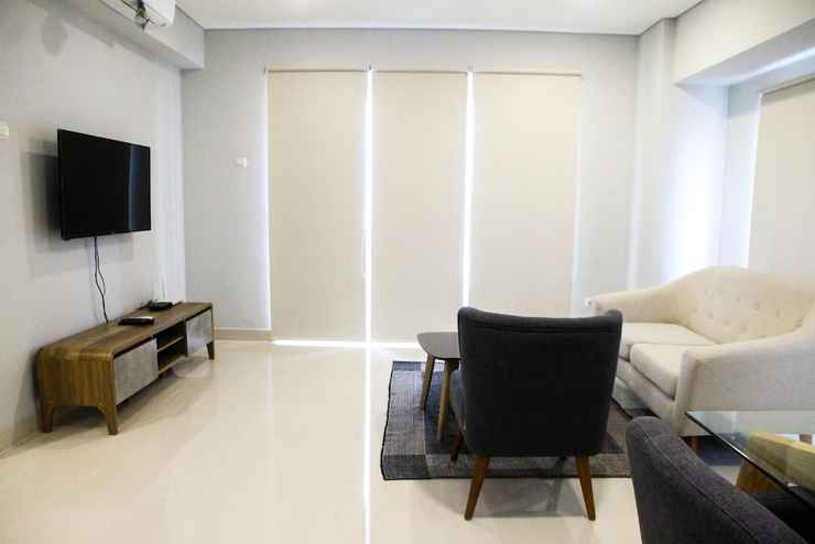 COMMON_SPACE 3BR Luxurious Loft Apartment at Maqna Residence