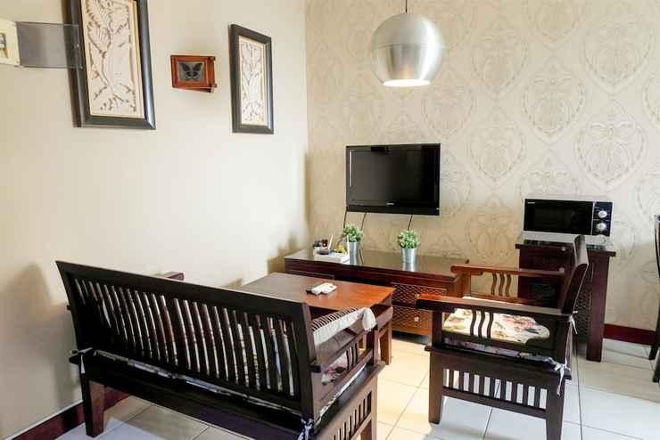 BEDROOM Homey 2BR Apartment at Mediterania Marina Residence