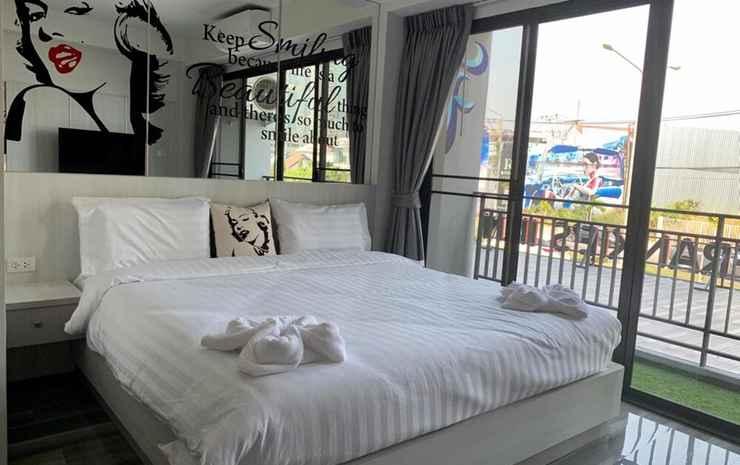 Frankie's Inn Chonburi - Kamar Double Deluks, balkon