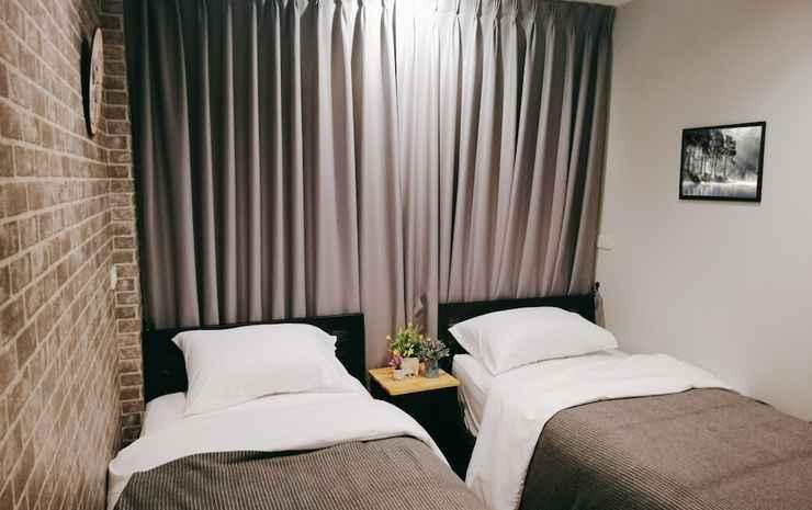 White House Hostel Bangkok - Kamar Twin Ekonomi