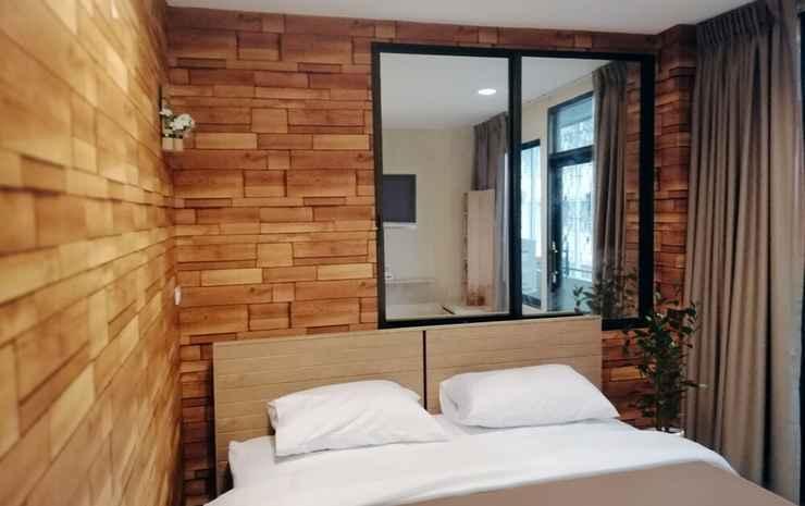 White House Hostel Bangkok - Kamar Double Ekonomi