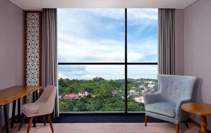 Four Points by Sheraton Balikpapan Balikpapan - Kamar Deluks, 1 Tempat Tidur King, non-smoking, pemandangan kota