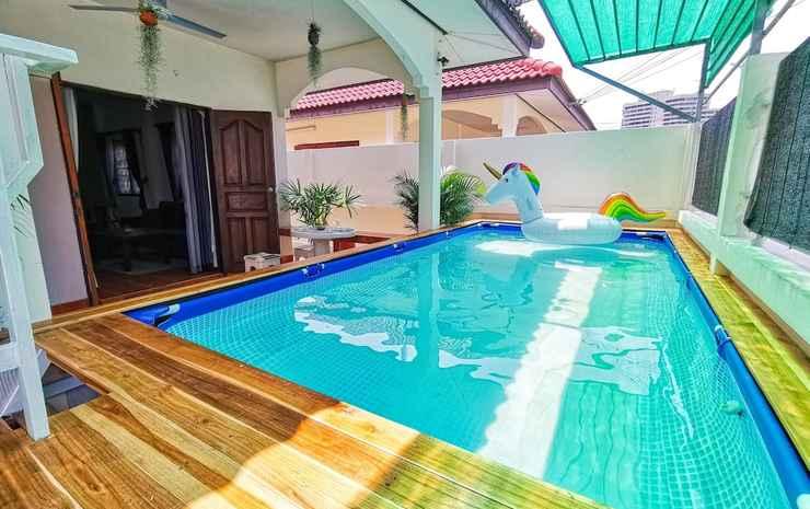 Thai Orange Villas Chonburi - Rumah, pemandangan kolam renang
