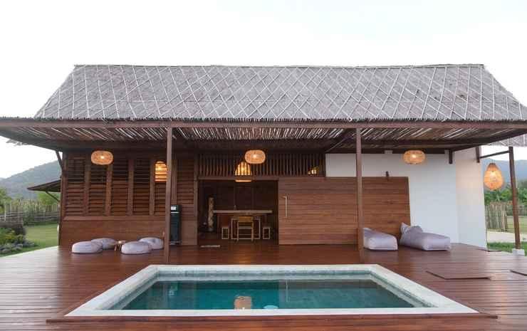 Naia Resort Beach Club Sumbawa Sumbawa Barat - Vila Deluks, kolam renang pribadi
