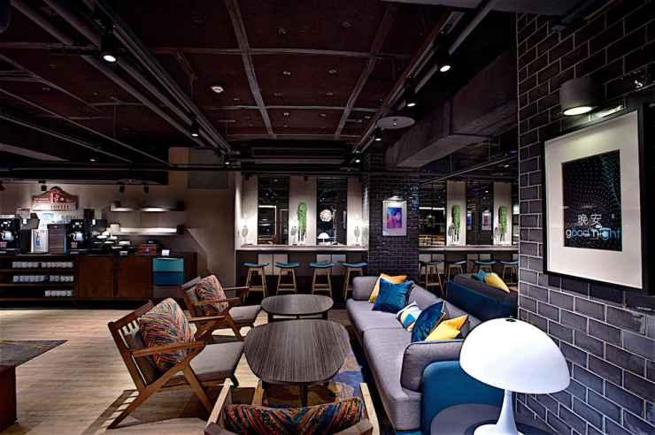 BAR_CAFE_LOUNGE โรงแรมจัสต์สลีป ซีเหมินติง (ปรับปรุงใหม่)