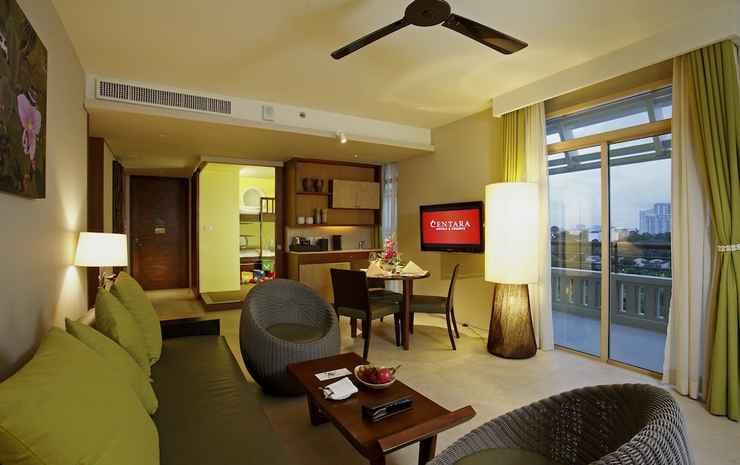 Centara Grand Mirage Beach Resort Pattaya Chonburi - Suite Keluarga, pemandangan samudra