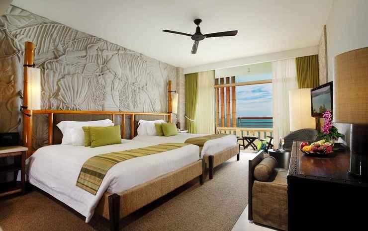 Centara Grand Mirage Beach Resort Pattaya Chonburi - Kamar Deluks, pemandangan samudra
