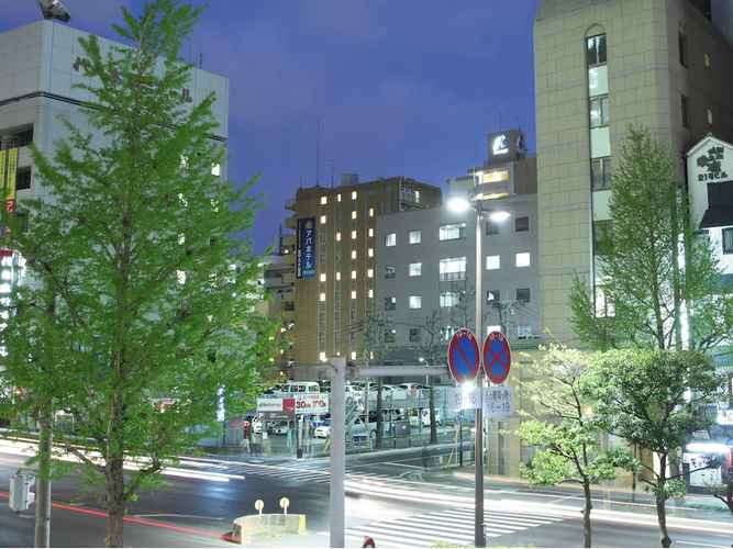 EXTERIOR_BUILDING โรงแรมเอพีเอ ฮาคาตะ-เอคิมาเอะ