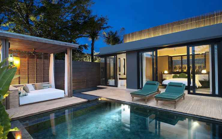 W Bali - Seminyak Bali - Vila, 1 kamar tidur, non-smoking, teras (Marvelous Pool Villa)