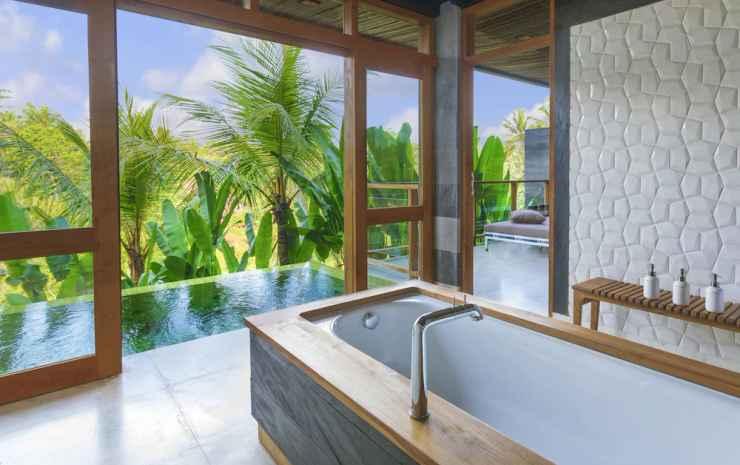 Chapung Sebali Bali - Suite Deluks, kolam renang pribadi, pemandangan lembah