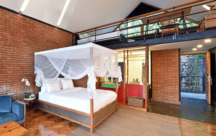 Chapung Sebali Bali - Suite Deluks, 1 Tempat Tidur King, balkon, pemandangan lembah