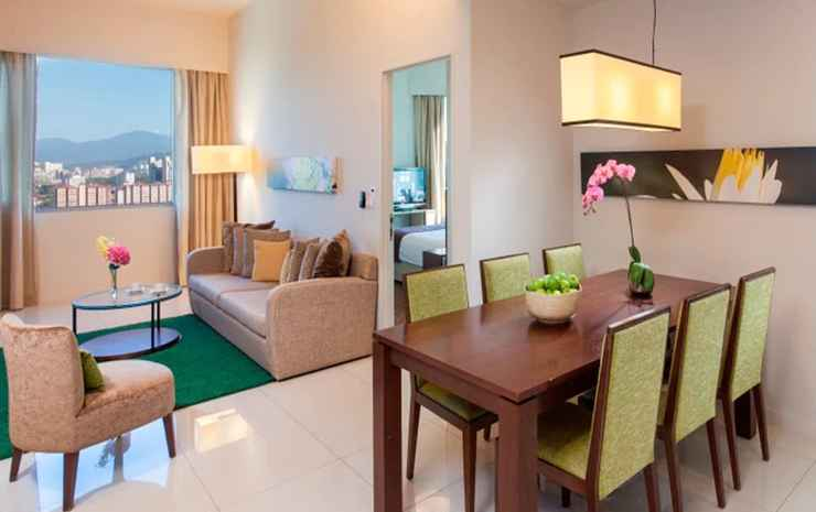 Somerset Kuala Lumpur Kuala Lumpur - Apartemen Premier, 2 kamar tidur