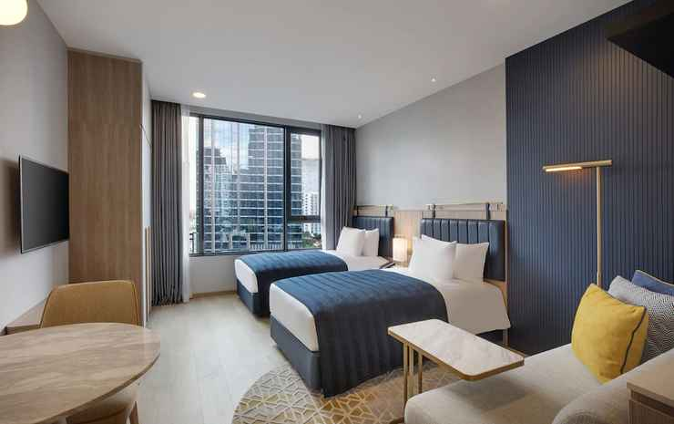 Staybridge Suites Bangkok Thonglor Bangkok - Studio Suite, 2 Tempat Tidur Twin, dapur